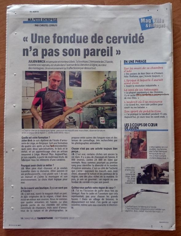 Article Mag'Villes & Vilages - Septembre 2017